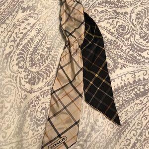 Coach handbag accessory scarves